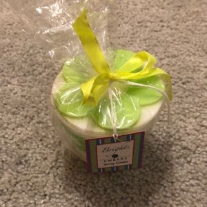 Brights Embers Spring Garden Novelty Bucket Candle
